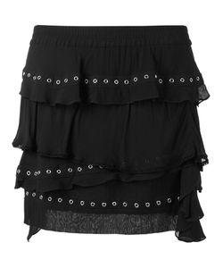 Iro | Eyelet Ruffle Skirt 36