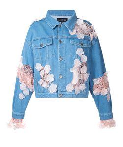ANOUKI | Джинсовая Куртка С Кружевными Вставками