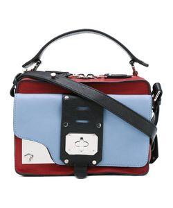 Versace   Metal Plaque Shoulder Bag