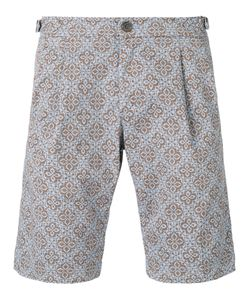 Re-Hash | Tile Print Shorts 31