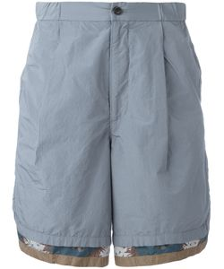 Kolor | Patterned Trim Shorts 2 Cotton/Polyester
