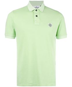 Stone Island | Logo Patch Polo Shirt Xl Cotton