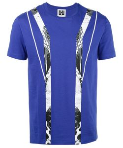 Les Hommes Urban | Geometric Print T-Shirt Xxl Cotton