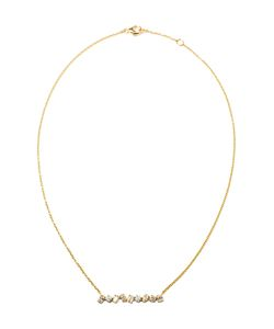 KIMBERLY MCDONALD | 18k Diamond Bar Necklace