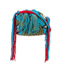 Peter Pilotto   Dinosaur Applique Crocheted Bag