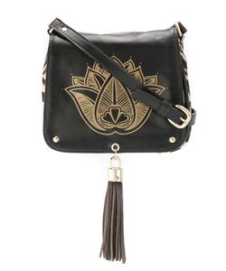 Xaa   Printed Shoulder Bag Cotton/Artificial Leather