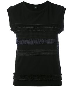 Y'S | Sleeveless Ruffle T-Shirt 3