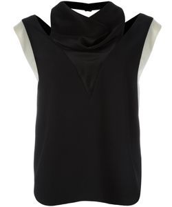 Lanvin | Cut Out Contrast Top 40