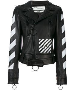 OFF-WHITE | Куртка С Диагональным Узором