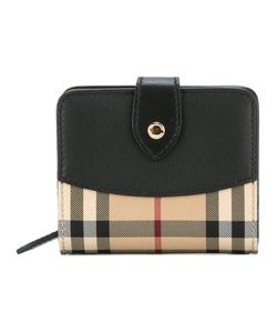 Burberry | House Check Compact Purse Leather/Polyamide/Polyester
