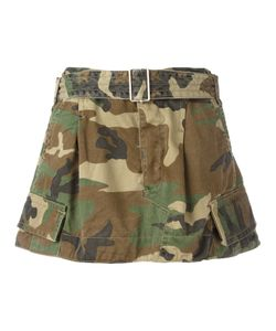Marc Jacobs | Camouflage Belted Cargo Skirt 4 Cotton