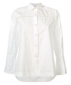 Derek Lam 10 Crosby | Embroidered Sleeve Shirt Size 2