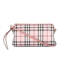 Burberry | Checked Crossbody Bag Nylon/Leather