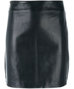 Manokhi | Fitted Leather Skirt
