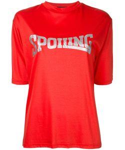 G.V.G.V. | G.V.G.V. Spoiling Glitter Print T-Shirt