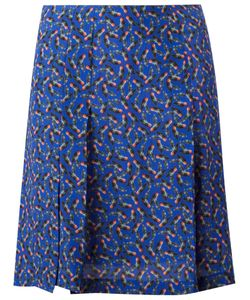 Cacharel | Pleat Detail Mini Skirt 38