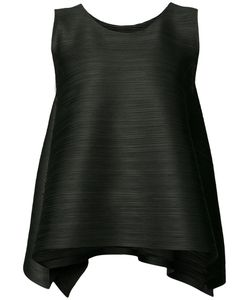 PLEATS PLEASE BY ISSEY MIYAKE | Pleated Textured Flared Tank