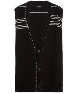 Raf Simons | Oversized Sleeveless Cardigan Wool