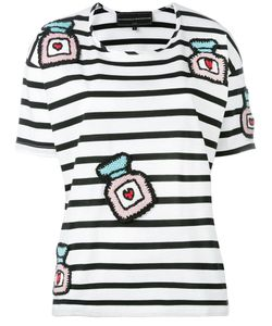 Michaela Buerger   Knitted Patches T-Shirt Size Medium