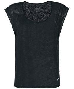 Nike | Футболка С Вырезом Ковш И Короткими Рукавами