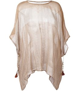 Mes Demoiselles | Striped Tassel Tunic Size