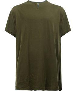 Yohji Yamamoto | Slit Neck T-Shirt Size