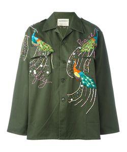 Night Market | Peacock Military Jacket Cotton