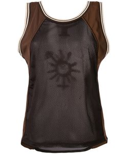Jean Paul Gaultier | Mesh Colour Block Tank Top