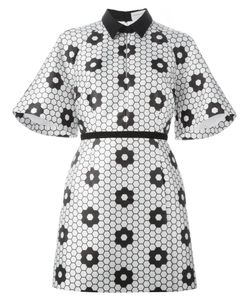 Caterina Gatta | Honeycomb Print Shirt Dress