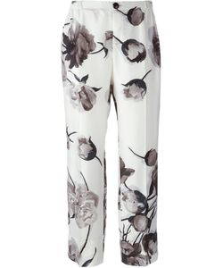 FOR RESTLESS SLEEPERS | Print Cropped Pajama Trousers