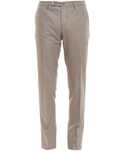 BROWNS | Flannel Wool Trousers