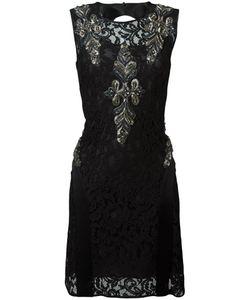 Alberta Ferretti | Кружевное Платье С Вышивкой Бисером