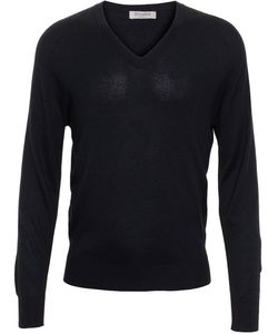 BROWNS | V-Neck Jumper