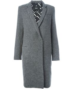 BEST+ | Off-Centre Button Fastening Classic Coat