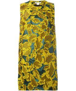 Antonio Berardi   Жаккардовое Платье С Растительным Узором