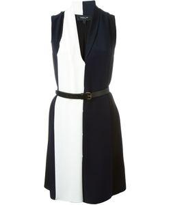 Derek Lam | Двухцветное Платье С Поясом