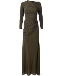 CORTANA   Вечернее Платье С Асимметричным Вырезом