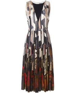 Salvatore Ferragamo | Платье А-Образного Силуэта С Геометрическим Принтом