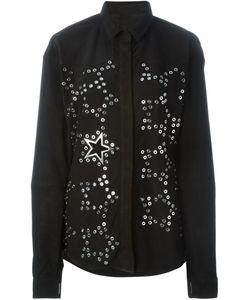 Anthony Vaccarello   Рубашка С Принтом Звезд