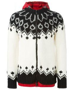 Moncler Grenoble | Padded Hood Knit Jacket