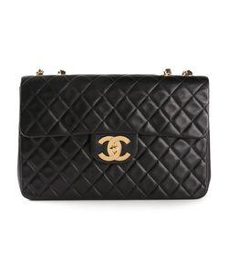 Chanel Vintage | Большая Стеганая Сумка На Плечо
