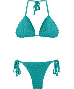 SKINBIQUINI | Crochet Triangle Bikini Set