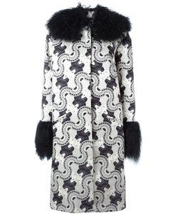 Holly Fulton | Пальто С Воротником И Манжетами Из Овчины