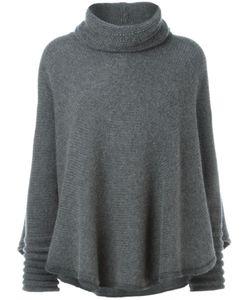 Roberto Capucci | High Neck Cape Style Sweater