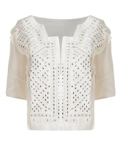 SKINBIQUINI | Embellished Embroidery Blouse