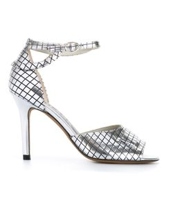 Golden Goose | Grid Pattern Sandals