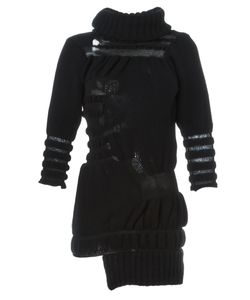 HELEN LAWRENCE | Трикотажное Платье С Рваной Отделкой