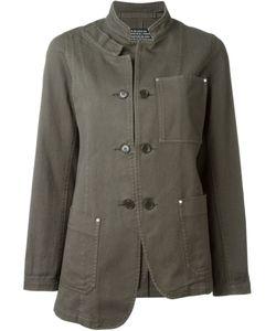 Zucca | Асимметричная Куртка В Стиле Милитари