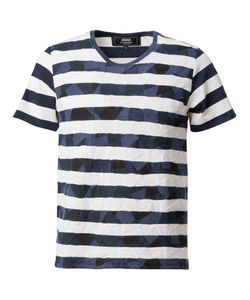 ANREALAGE | Patchwork Stripe T-Shirt