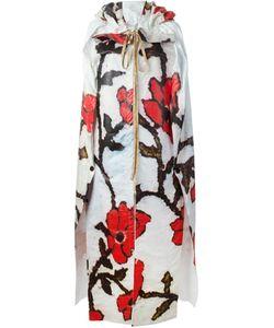 Vivienne Westwood Gold Label | Объемная Накидка С Цветочным Принтом